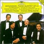 Schumann: Op. Nos. 44 & 47 - David Finckel (cello); Emerson String Quartet; Eugene Drucker (violin); Lawrence Dutton (viola); Menahem Pressler (piano); Philip Setzer (violin)