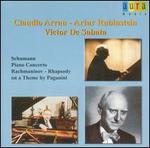Schumann: Piano Concerto; Rachmaninov: Rhapsody on a Theme by Paganini