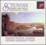 Schumann: Sonatas, Op. 105 & 121; Romances, No. 1-3, Op. 94