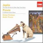 Scott Joplin: The Easy Winners & Other Rag-Time Music; André Previn: A Different Kind of Blues