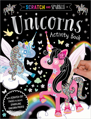 Scratch and Sparkle Unicorns Activity Book - Make Believe Ideas Ltd