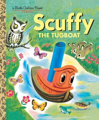 Scuffy the Tugboat - Golden Books, and Crampton, Gertrude