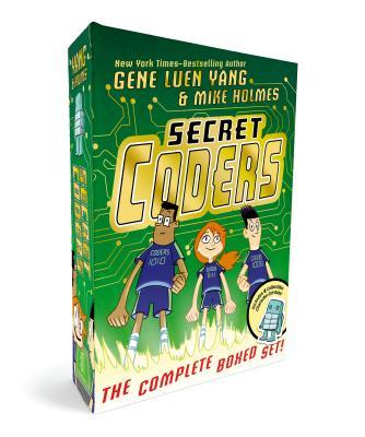 Secret Coders: The Complete Boxed Set: (secret Coders, Paths & Portals, Secrets & Sequences, Robots & Repeats, Potions & Parameters, Monsters & Modules) - Yang, Gene Luen, and Holmes, Mike (Illustrator)