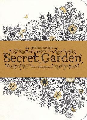 Secret Garden: Three Mini Journals - Basford, Johanna