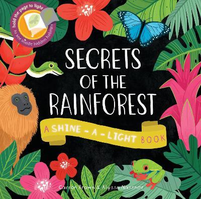 Secrets of the Rainforest: A Shine-a-Light Book - Brown, Carron, and Nassner, Alyssa