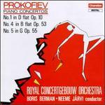 Sergey Sergeyevich Prokofiev: Piano Concertos Nos. 1, 4 & 5
