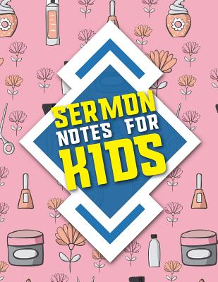 Sermon Notes for Kids: Journal, Doodle, Draw, Study the Bible, Pray, Reflect, and Connect with God, Cute Beauty Shop Cover - Publishing, Rogue Plus