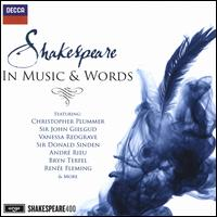 Shakespeare in Music & Words - Amy Dickson (sax); Anatoly Kotcherga (bass); Anthony Mee (tenor); April Cantelo (soprano);...
