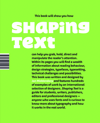 Shaping Text - Middendorp, Jan