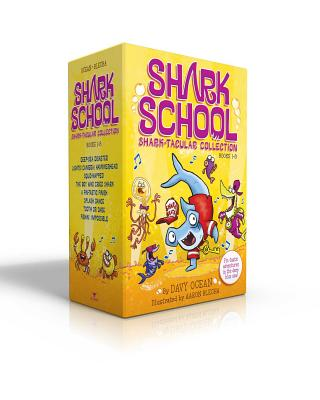 Shark School Shark-Tacular Collection Books 1-8: Deep-Sea Disaster; Lights! Camera! Hammerhead!; Squid-Napped!; The Boy Who Cried Shark; A Fin-Tastic Finish; Splash Dance; Tooth or Dare; Fishin' Impossible - Ocean, Davy