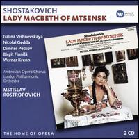 Shostakovich: Lady Macbeth of Mtsensk - Alexander Malta (vocals); Birgit Finnila (vocals); Colin Appleton (vocals); David Beavan (vocals); Dimiter Petkov (vocals);...