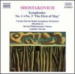 "Shostakovich: Symphonies Nos. 1 & 3 ""The First of May"""