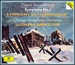 "Shostakovich: Symphonies Nos. 1 & 7 ""Leningrad"""