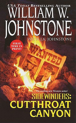 Sidewinders #3: Cutthroat Canyon - Johnstone, William W, and Johnstone, J A