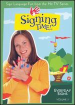 Signing Time!, Vol. 3: Everyday Signs