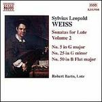 Silvius Leopold Weiss: Sonatas for Lute, Vol. 2