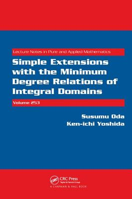 Simple Extensions with the Minimum Degree Relations of Integral Domains - Oda, Susumu
