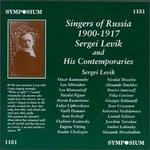 Singers of Russia 1900-1917