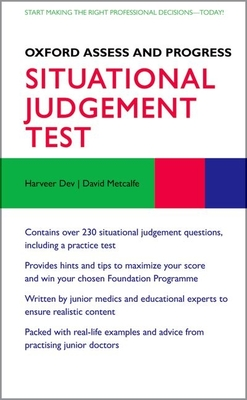 Situational Judgement Test - Dev, Harveer (Editor), and Metcalfe, David (Editor)
