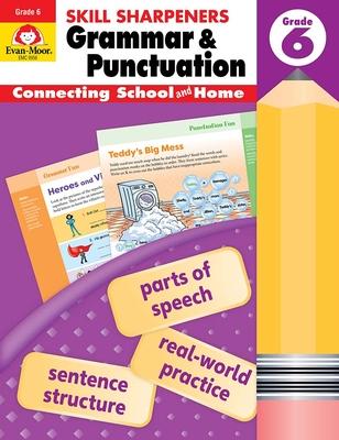 Skill Sharpeners Grammar and Punctuation, Grade 6 - Evan-Moor