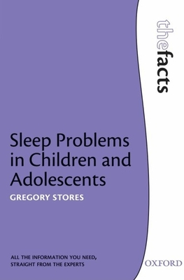 Sleep Problems in Children and Adolescents - Stores, Gregory