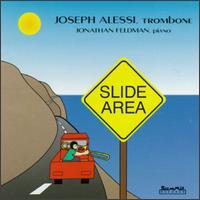 Slide Area - Gloria Lum (cello); Jonathan Feldman (piano); Joseph Alessi (trombone); Robert Elkjer (piano); Robert Elkjer (conductor)