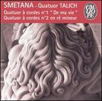 """Smetana: Quatour à cordes No. 1 """"De ma vie""""; Quatour à cordes No. 2"""