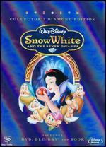 Snow White and the Seven Dwarfs [3 Discs] [With Book] [DVD/Blu-Ray] - Ben Sharpsteen; David Hand; Dick Richard; Dorothy Ann Blank; Larry Morey; Merrill de Maris; Perce Pearce; Richard Creedon;...