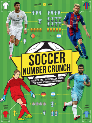 Soccer Number Crunch: Figures, Facts and Soccer STATS: The World of Soccer in Numbers - Pettman, Kevin