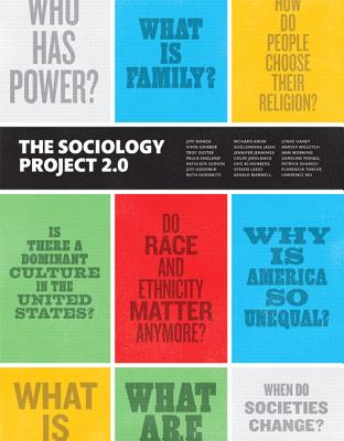 Sociology Project: Introducing the Sociological Imagination, The,  Plus NEW MySocLab for Introduction to Sociology --  Access Car - Manza, Jeff, and Haney, Lynne, and Arum, Richard