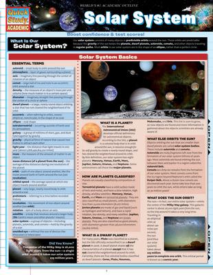 Solar System - BarCharts Inc