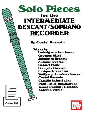Solo Pieces for the Interm. Descant/Soprano Recorder - Puscoiu, Costel
