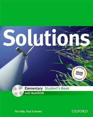 Solutions Elementary: Student's Book with MultiROM Pack - Falla, Tim, and Davies, Paul A.