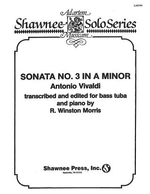 Sonata No. 3 in a Minor: Tuba in C (B.C.) and Piano - Vivaldi, Antonio (Composer)