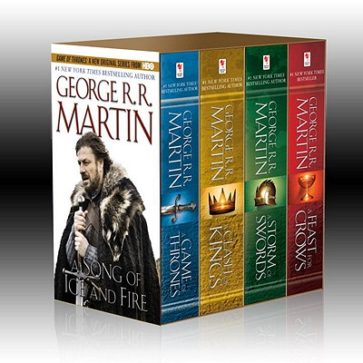 Song of Ice & Fire 4v: A Game of Thrones, a Clash of Kings, a Storm of Swords, and a Feast for Crows - Martin, George R R