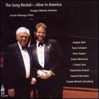 Song Recital: Alive in America - Douglas Webster (baritone); Lincoln Mayorga (piano)