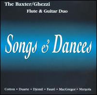 Songs & Dances - Baxter-Ghezzi Flute and Guitar Duo