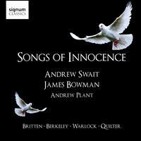 Songs of Innocence - Andrew Plant (piano); Andrew Swait (treble); James Bowman (counter tenor)