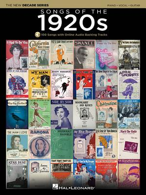 Songs of the 1920s: The New Decade Series with Online Play-Along Backing Tracks - Hal Leonard Publishing Corporation (Creator)