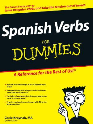 Spanish Verbs for Dummies - Kraynak, Cecie