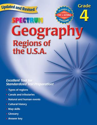 Spectrum Geography, Grade 4: Regions of the U.S.A. - Spectrum