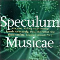 Speculum Musicae Performs Music By Emerging Composers - Aleck Karis (piano); Allen Blustine (clarinet); Allen Blustine (clarinet); Carol Zeavin (violin);...