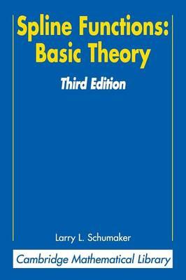 Spline Functions: Basic Theory - Schumaker, Larry