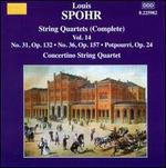 Spohr: Complete String Quartets, Vol. 14