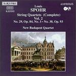 Spohr: Complete String Quartets, Vol. 2