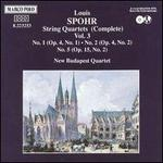 Spohr: Complete String Quartets, Vol. 3