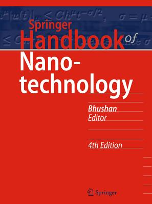 Springer Handbook of Nanotechnology - Bhushan, Bharat (Editor)