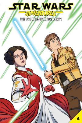 Star Wars Adventures #4: The Trouble at Tibrin, Part 1 - Walker, Landry Q, and Acker, Ben, and Blacker, Ben