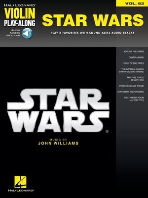 Star Wars: Violin Play-Along Volume 62 - Williams, John, Professor (Composer)