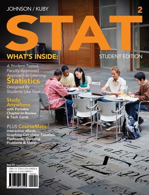 Stat 2 (with Review Cards and Coursemate Printed Access Card) - Johnson, Robert R, and Kuby, Patricia J